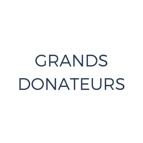 Grands donateurs