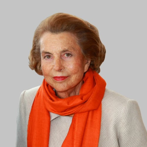 † Liliane Bettencourt