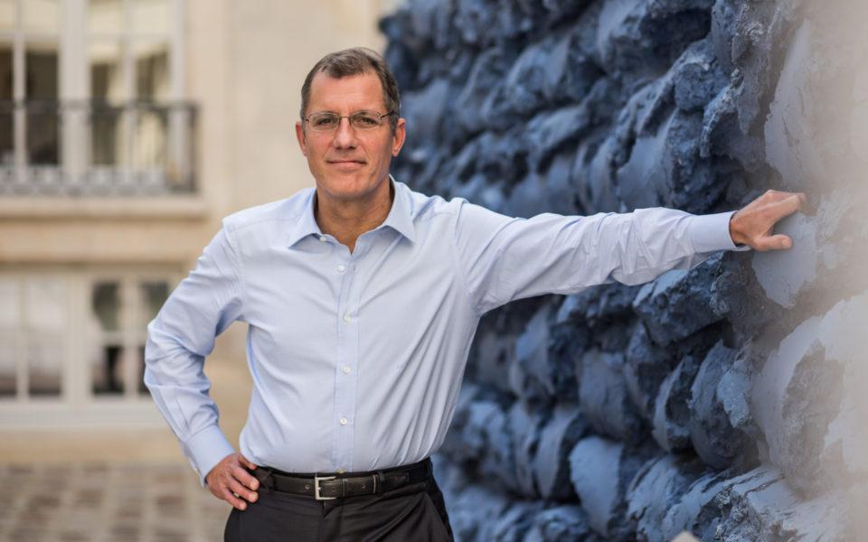 Laurent Dumas, président du Groupe Emerige,  mécène engagé en faveur de la transmission des savoirs