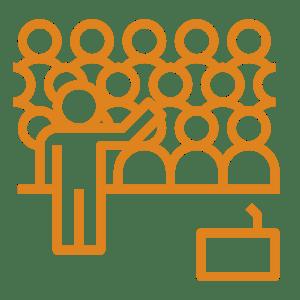 pictogramme colloques et séminaires