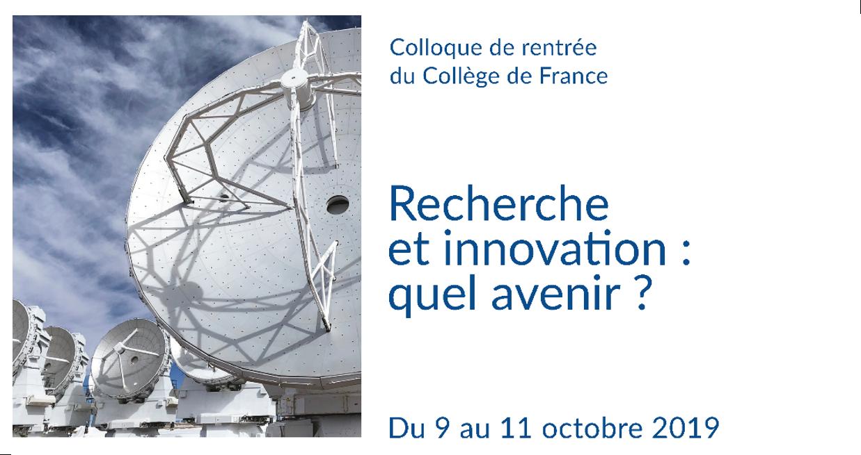 Recherche et innovation : quel avenir ?