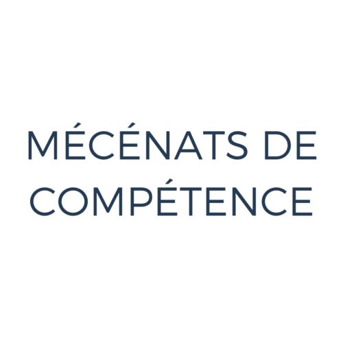 Mécénats de compétence